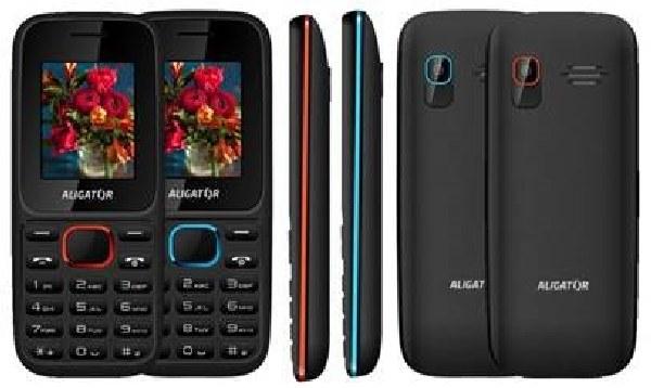 ALIGATOR D200 Dual sim černo-červ.modrý