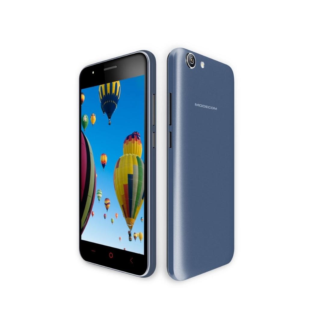 """Modecom Smartphone Q-502 Dual SIM/5"""" IPS/854x480/Quad-Core 1,2GHz/1GB RAM/8GB flash/5Mpix/Android 5.1/black"""