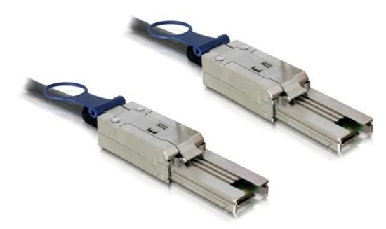 Delock kabel externí SAS mini 26-pin na SAS mini 26-pin 100 cm