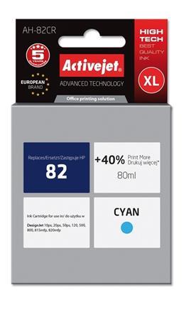 ACJ Ink cartridge HP 4911 Cyan ref. no82 - 80 ml