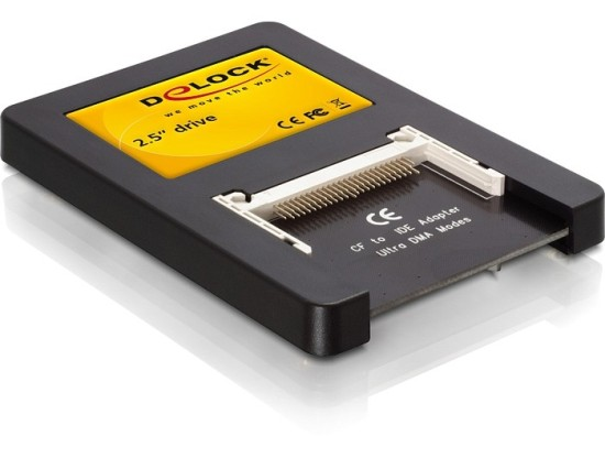 "Delock adaptér 2,5"" IDE na 2x CF karty"