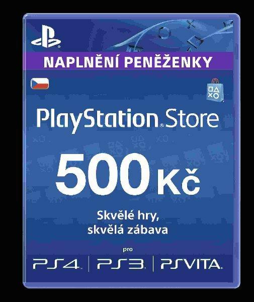 SONY PlayStation Live Cards CZK500