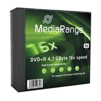 MEDIARANGE DVD+R 4,7GB 16x slimcase 5ks