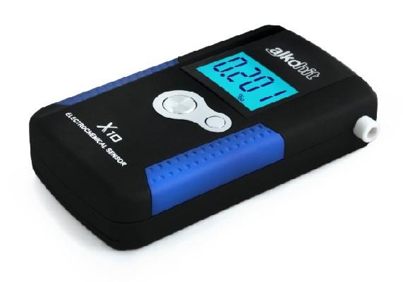 ALKOHIT X10 elektrochemický profesionální alkohol tester