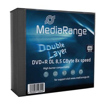 MEDIARANGE DVD+R 8,5GB 8x Dual Layer slimcase 5ks