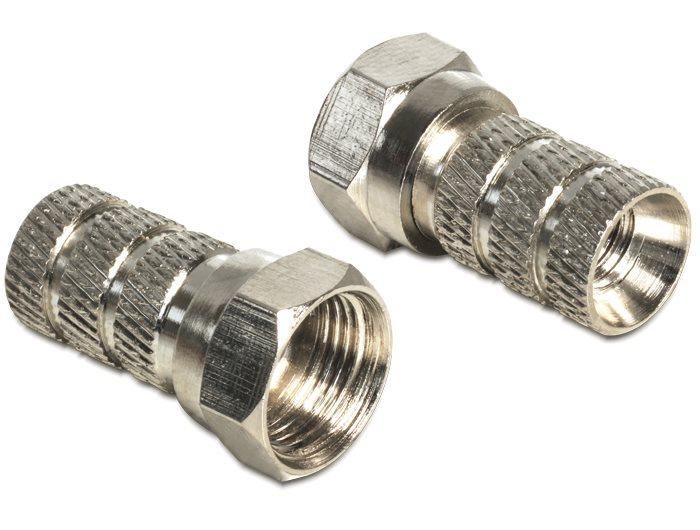 DeLock adaptér F na koaxiální kabel