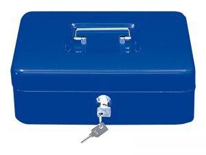 Přenosná pokladna WEDO 200, modrá