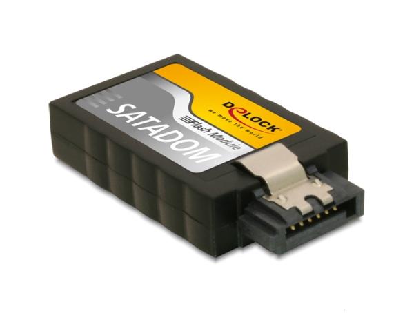 Delock Flash Modul SATA 6 Gb/s  32 GB vertical SLC