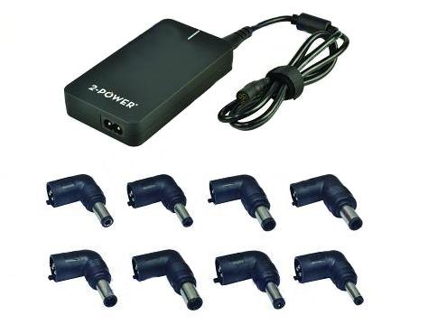 2-Power SlimLine univerzální adaptér pro notebooky, 90 W