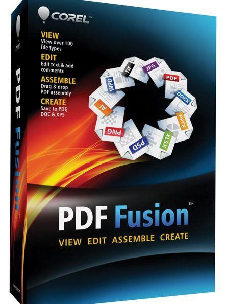 Corel PDF Fusion 1 License ML (1-10)