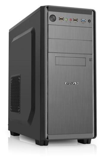 EVOLVEO R05, 500W 80%, PSU case ATX,2x USB2.0/1x USB3.0 1xHD Audio, 2x 120mm, černý