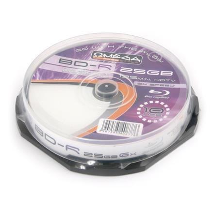 FREESTYLE BD-R BLU-RAY 25GB 6X PRINT FF CAKE*10 [40877]