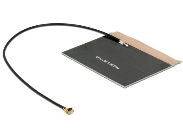 Delock LTE anténa MHF/U.FL-LP-068 kompatibilní port  2 ~ 3.5 dBi 150 mm PCB Internal Self-Adhesive