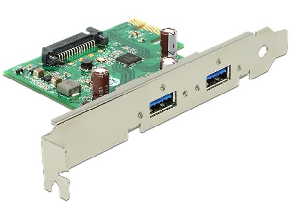 Delock PCI express karta > 2 x USB 3.0