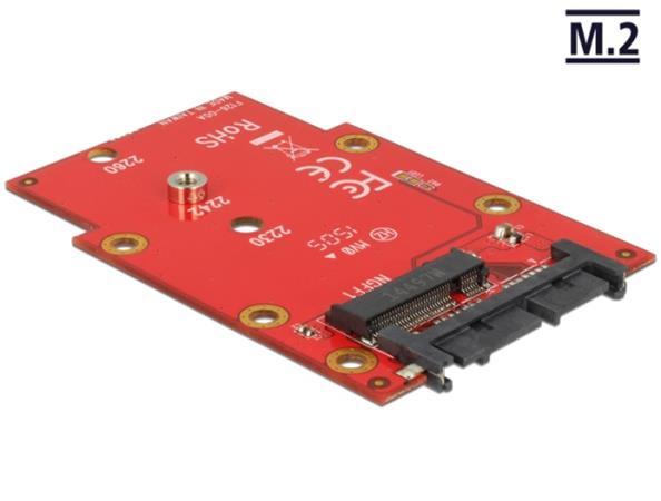 "Delock 1.8"" převodník Micro SATA 16 Pin > M.2 NGFF"