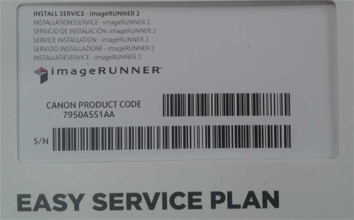 Canon ESP Installation service - imageRUNNER Category 2
