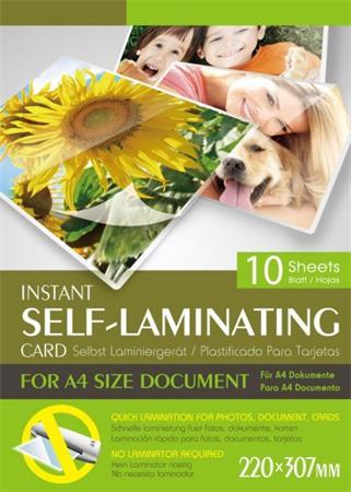 Laminovací fólie 10 ks, A4, 175 mic, COLD pro OBOUSTRANNOU laminaci za studena