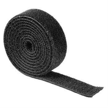 Hama univerzální stahovací páska, suchý zip, 1m, černá