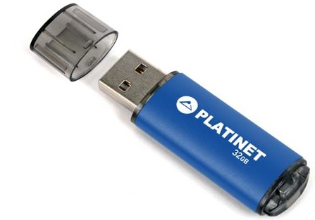 PLATINET flashdisk USB 2.0 X-Depo 32GB modrý