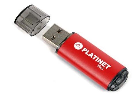 PLATINET flashdisk USB 2.0 X-Depo 32GB červený
