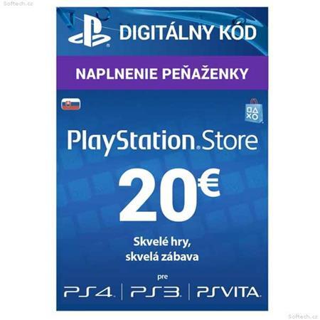 SONY PlayStation Live Cards Hang EUR20/SVK