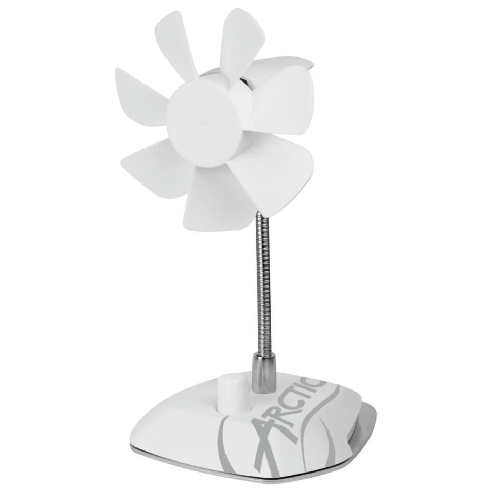 Arctic Breeze Color Edition WHITE - USB stolní ventilátor, bílý