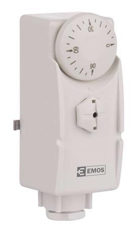 Emos T80 příložný termostat, manuální