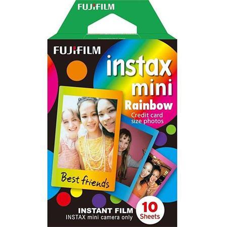 Fujifilm COLORFILM INSTAX mini 10 fotografií - RAINBOW