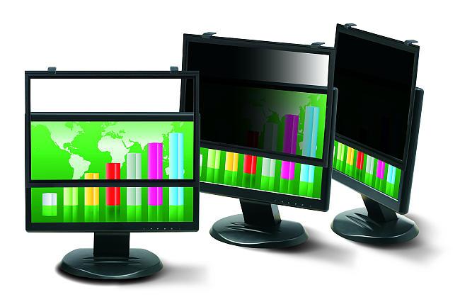 """3M Černý rámový privátní filtr na LCD 24"""" Wide (16:9) (PF324W9)"""
