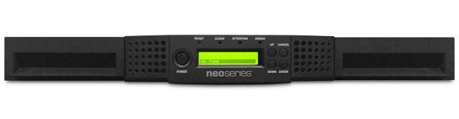 NEOs StorageLoader 1U/8-slot/1-LTO7 48TB / 120TB SAS (includes 3 year Bronze/advanced replacement warranty)