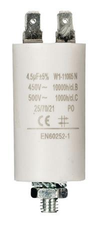 Fixapart W1-11005N - Kondenzátor 450V + Zem Produktové Označení Originálu 4.5uf / 450 v + earth