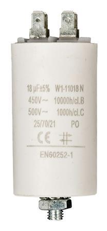 Fixapart W1-11018N - Kondenzátor 450V + Zem Produktové Označení Originálu 18.0uf / 450 v + earth
