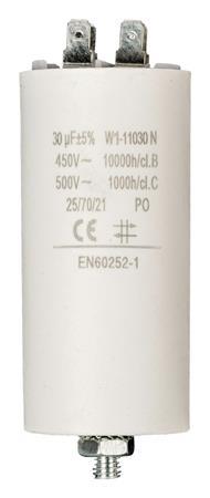 Fixapart W1-11030N - Kondenzátor 450V + Zem Produktové Označení Originálu 30.0uf / 450 v + earth