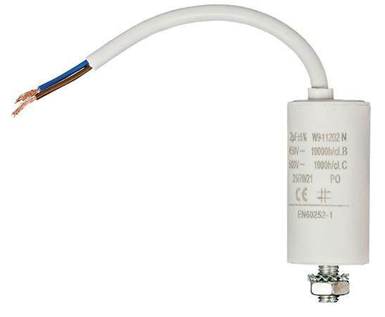 Fixapart W9-11202N - Kondenzátor 450V + Kabel Produktové Označení Originálu 2.0uf / 450 V + cable