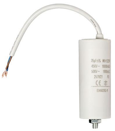 Fixapart W9-11225N - Kondenzátor 450V + Kabel Produktové Označení Originálu 25.0uf / 450 V + cable