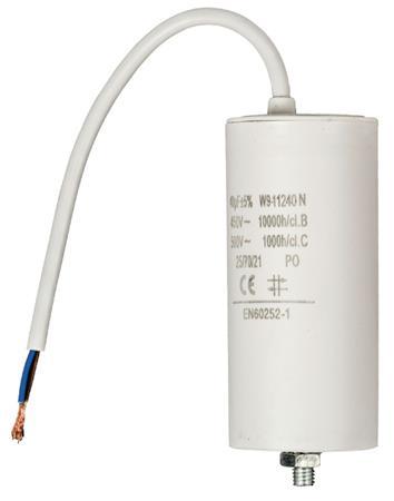 Fixapart W9-11240N - Kondenzátor 450V + Kabel Produktové Označení Originálu 40.0uf / 450 V + cable