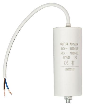 Fixapart W9-11260N - Kondenzátor 450V + Kabel Produktové Označení Originálu 60.0uf / 450 V + cable