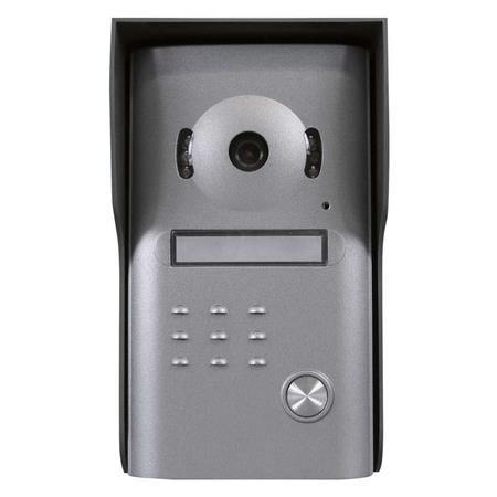 Emos dveřní kamera H1126, barevná, 1 tlačítko