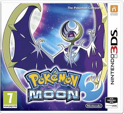 Nintendo 3DS Pokémon Moon