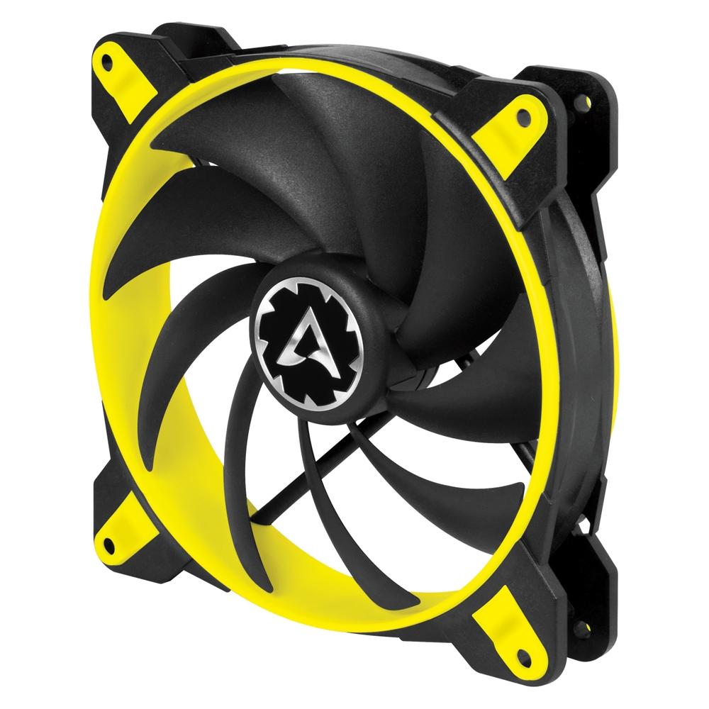 ARCTIC BioniX F140 (Žlutý) 140 x 140 x 28 mm eSport ventilátor, 3fázový motor, PWM control and PST technology