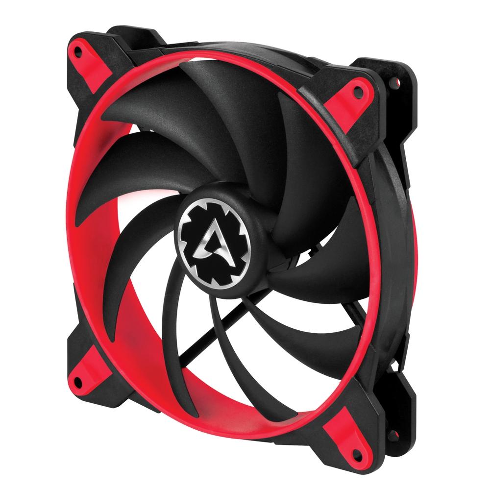 ARCTIC BioniX F140 (Červený) 140 x 140 x 28 mm eSport ventilátor, 3fázový motor, PWM control and PST technology