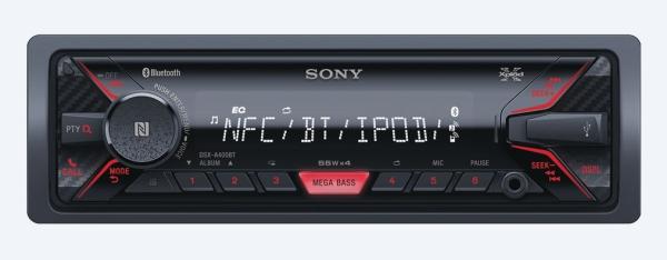 SONY DSX-A410BT Autorádio (1 DIN) bez optické mechaniky s širokými možnostmi propojení