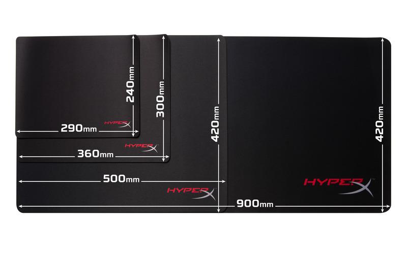 HyperX FURY S Pro Gaming podložka herní pod myš - střední