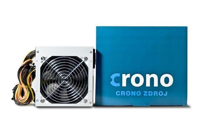 Crono zdroj 400W 85 PLUS, 12cm fan, Active PFC, Gen.2
