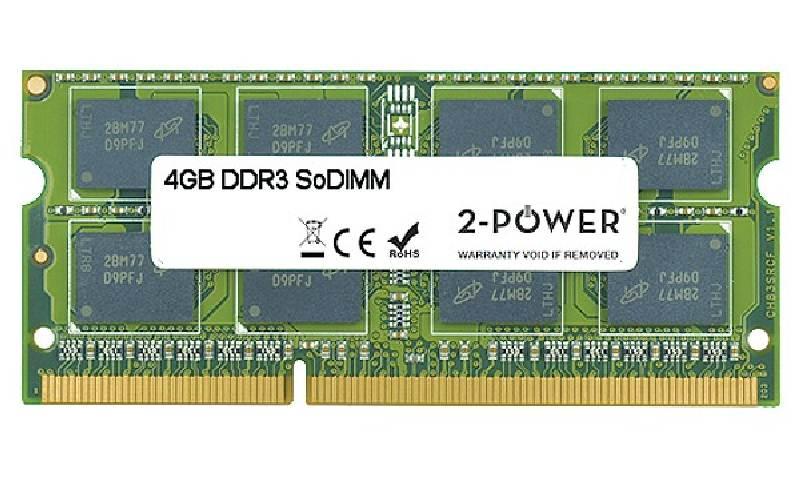 2-Power 4GB PC3-8500S 1066MHz DDR3 CL7 SoDIMM 2Rx8 (DOŽIVOTNÍ ZÁRUKA)