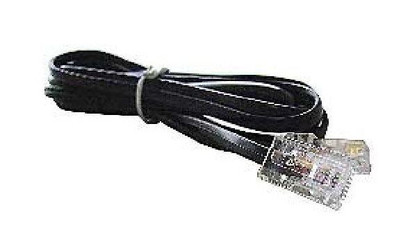 Kabel CABLEXPERT Telefonní drát  100m černý