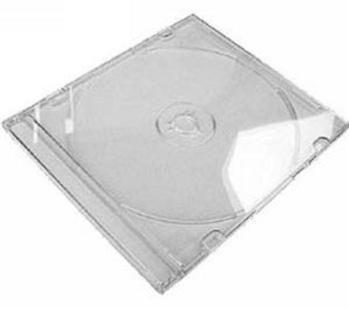 COVER IT Krabička na 1 CD 5,2mm slim box + tray čirý - karton 200ks