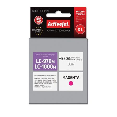 ActiveJet ink Brother LC1000M new AB-1000MN   35 ml