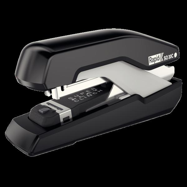 Kompaktní sešívačka Rapid Supreme Omnipress SO30c, 30 listů, černá