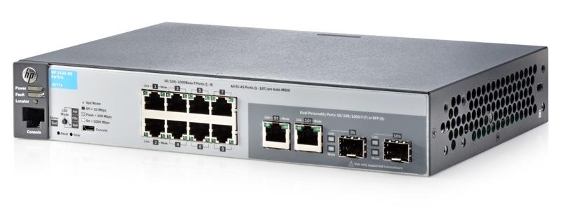 Aruba 2530 8G Switch - J9777A